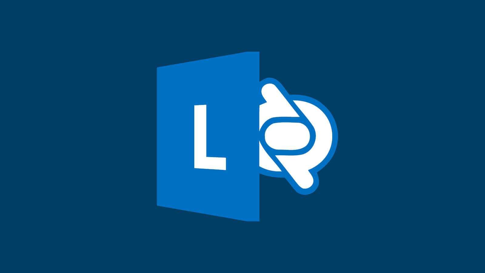 Logoet på Microsoft Lync