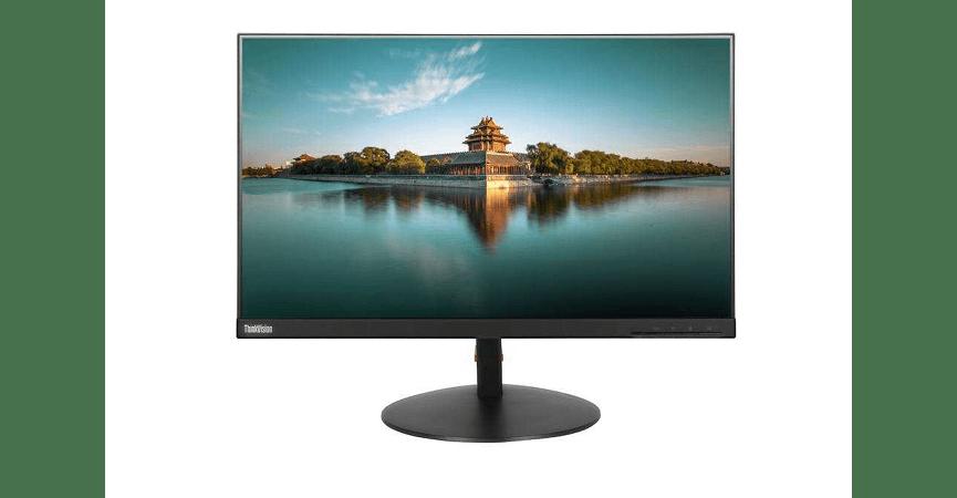 """Lenovo 23,8"""" T24i skærm med 1920*1080 skærmopløsning"""