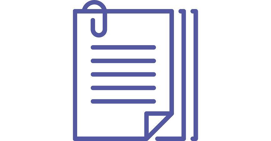 Et ikon der viser at man kan opbevare dokumenter i Microsoft Teams