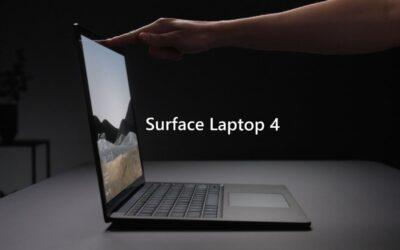 Microsoft lancerer Surface Laptop 4