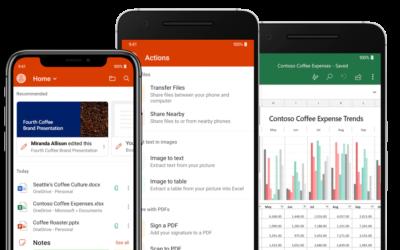 Microsoft 365 mobilapps