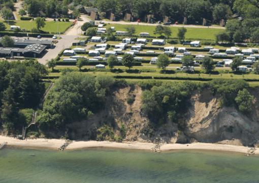 Camping pladsen DANCAMPS Trelde Næs